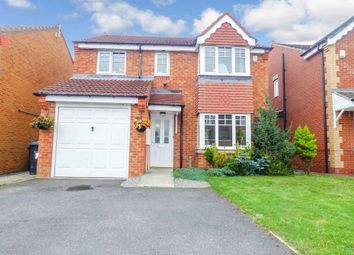 Thumbnail 4 bed detached house for sale in Clitheroe Gardens, Bedlington