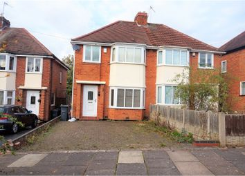 Thumbnail 3 bed semi-detached house for sale in Woolacombe Lodge Road, Birmingham