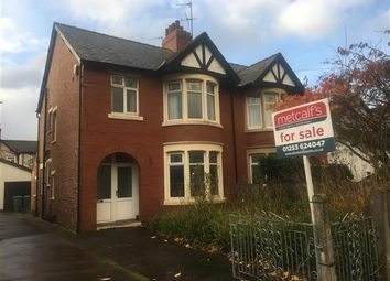 Thumbnail 3 bed semi-detached house for sale in West Drive, Thornton-Cleveleys