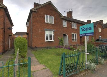 Thumbnail 3 bed town house for sale in Peake Road, Leicester