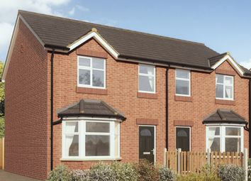 Thumbnail 3 bed semi-detached house to rent in Greenway Off Radcliffe Road, Fleetwood, Lancashire