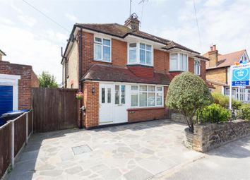 Thumbnail 3 bed semi-detached house for sale in Bradstow Way, Broadstairs