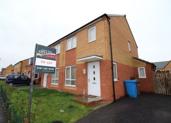 Thumbnail 2 bedroom semi-detached house to rent in Metcombe Way, Manchester
