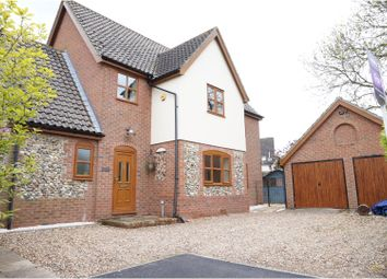 Thumbnail 4 bedroom detached house for sale in Churchway, Redgrave