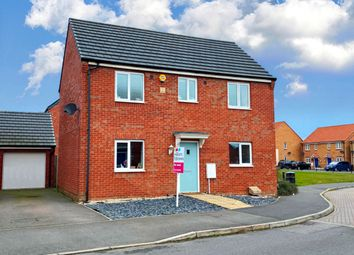 Thumbnail 3 bed detached house for sale in Pandora Drive, Stanground, Peterborough