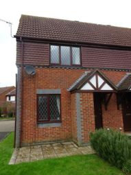 Thumbnail 1 bed terraced house to rent in Bowers Close, Burpham, Guildford