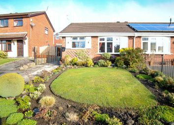 Thumbnail 2 bed semi-detached bungalow for sale in Solway Grove, Meir Hay, Stoke-On-Trent, Staffordshire