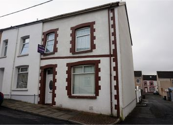 Thumbnail 3 bed end terrace house for sale in Edward Street, Merthyr Tydfil