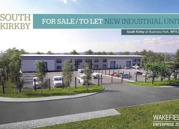 Thumbnail Light industrial for sale in South Kirkby Business Park, South Kirkby, Wakefield