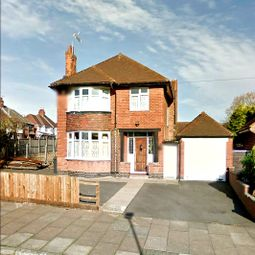 Thumbnail 3 bed detached house for sale in Kingsway Road, Leicestershire