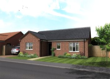 Thumbnail 3 bed detached bungalow for sale in Plot 81, The Cricketers, Holt Road, Horsford