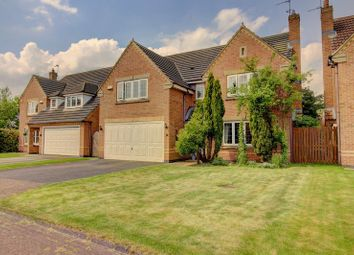 Thumbnail 4 bed detached house for sale in Jenkins Close, Pocklington, York