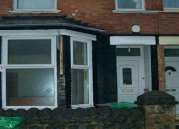 Thumbnail 5 bedroom terraced house to rent in Balfour Road, Lenton, Nottingham