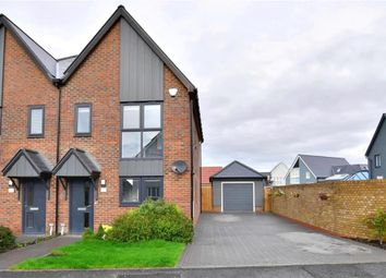 Thumbnail 2 bed semi-detached house for sale in Crispin Close, New Romney, Kent