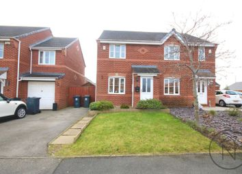 Thumbnail 2 bed semi-detached house for sale in Faversham Park, Faverdale, Darlington