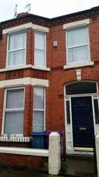 Thumbnail 4 bed terraced house to rent in Kenmare Road, Wavertree, Liverpool
