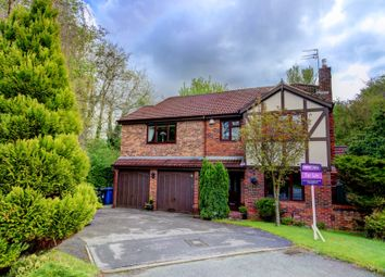 Thumbnail 5 bed detached house for sale in Grant Close, Old Hall, Warrington