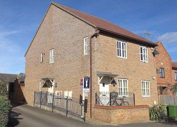 Thumbnail 2 bed flat for sale in Garwood Crescent, Grange Farm, Milton Keynes
