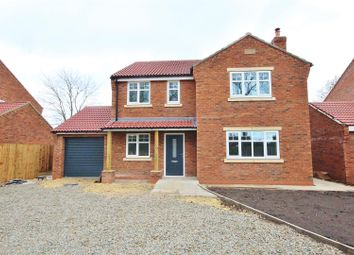 Thumbnail 4 bedroom detached house for sale in Hull Road, Hemingbrough, Selby