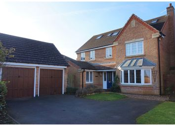 Thumbnail 6 bed detached house for sale in Lindisfarne Way, Grantham