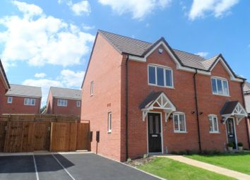 Thumbnail 2 bed semi-detached house to rent in Berry Maud Lane, Shirley, Solihull