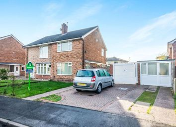 Thumbnail 2 bedroom semi-detached house for sale in Easton Gardens, Wednesfield, Wolverhampton