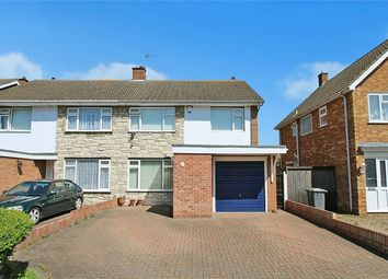 Thumbnail 3 bed semi-detached house for sale in Tiverton Road, Bedford