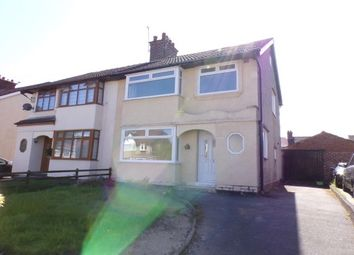 Thumbnail 3 bed property to rent in Heyville Road, Bebington, Wirral