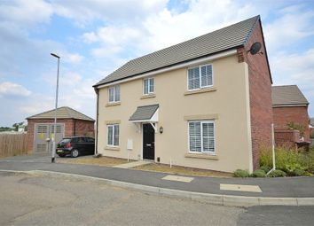 Thumbnail 4 bed detached house for sale in Downy Drive, Dragonfly Meadows, Northampton