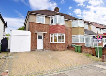 Thumbnail 3 bed semi-detached house for sale in Cheriton Avenue, Clayhall, Ilford, Essex