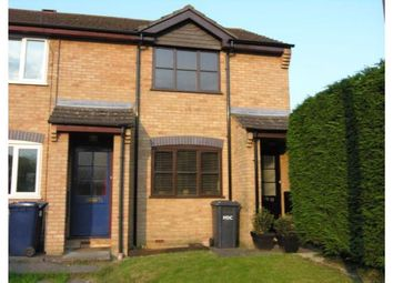 Thumbnail 2 bed end terrace house to rent in Eynesbury, St. Neots, Cambridgeshire