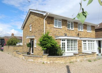 Thumbnail 4 bed semi-detached house for sale in The Chase, Warley, Brentwood