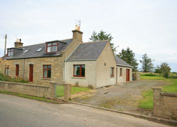 Thumbnail 3 bedroom semi-detached house for sale in 4 Easter Baldavie Cottages, Hilton, By Banff