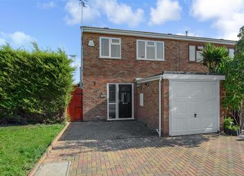 Thumbnail 3 bed end terrace house for sale in Brisbane Close, Worthing, West Sussex