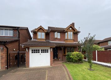 Thumbnail 4 bedroom detached house for sale in Dunham Road, Dukinfield