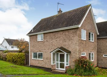 Thumbnail 3 bed detached house for sale in Lockington Road, Stowmarket