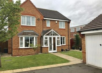 Thumbnail 4 bedroom detached house for sale in Knights Close, Willenhall, West Midlands