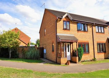 Thumbnail 3 bed semi-detached house for sale in Sandhurst Close, Northampton