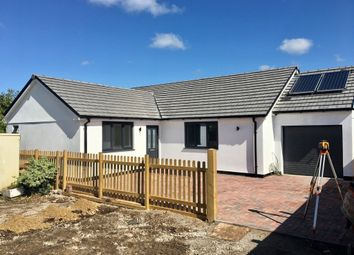 Thumbnail 4 bed detached bungalow for sale in Main Road, Rosudgeon, Penzance