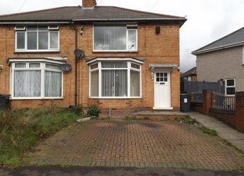 Thumbnail 3 bedroom semi-detached house for sale in Cotterills Lane, Alum Rock, Birmingham, West Midlands