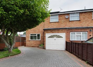 Thumbnail 3 bedroom semi-detached house for sale in Kimberley Close, Bishop's Stortford