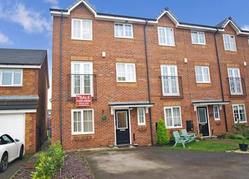 Thumbnail 3 bed town house for sale in Rushton Close, Burtonwood, Warrington, Warrington