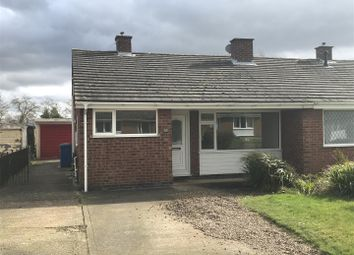Thumbnail 3 bed semi-detached bungalow to rent in Minster Drive, Cherry Willingham, Lincoln