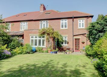 Thumbnail 4 bed semi-detached house for sale in The Crescent, Loansdean, Morpeth