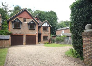 Thumbnail 7 bed detached house to rent in Blackbridge Road, Hook Heath, Woking