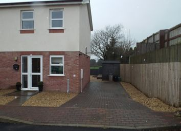 Thumbnail 2 bed semi-detached house for sale in Ffordd Werdd, Gorslas, Llanelli
