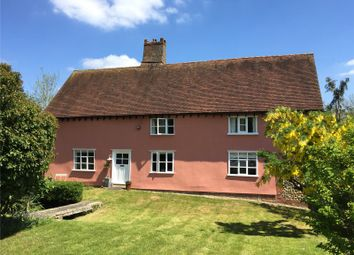 Thumbnail 4 bed detached house for sale in Shop Hill, Alpheton, Sudbury, Suffolk