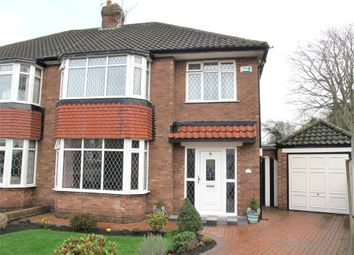Thumbnail 3 bed semi-detached house for sale in Booker Avenue, Calderstones, Liverpool, Merseyside