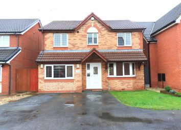 Thumbnail 4 bed detached house for sale in Georgia Avenue, Kirkby, Liverpool