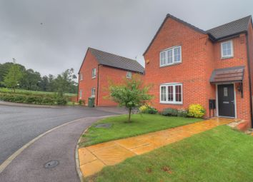 Thumbnail 3 bed detached house for sale in Yeoman Way, Rothley, Leicester